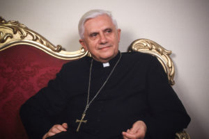 "Cardinal Joseph Ratzinger, 72, is the vice-dean of the College of Cardinals and was once archbishop of Munich. Known as ""the Panzer Cardinal,"" the conservative Ratzinger is powerful in the Vatican but may be too close to the pope for the cardinals' taste. While there is no official talk at the Vatican about who will succeed the ailing Pope John Paul II, several potential candidates have emerged--including Ratzinger. (Photo by Grzegorz Galazka/Getty Images)"